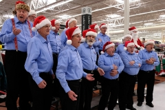 0030 Chorus at Walmart Dec from left